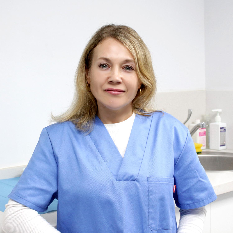 Natalia Pistunenko Mantenimiento sanitario Clínica Muelle Heredia Málaga