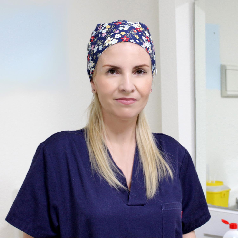 Pura García Duarte Escalona Enfermera Salud Laboral Clínica Muelle Heredia Málaga
